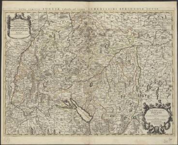Le cercle de Souabe divisé en tous les estats qui le composent, à l'usage de Monseigneur le Duc de Bourgogne