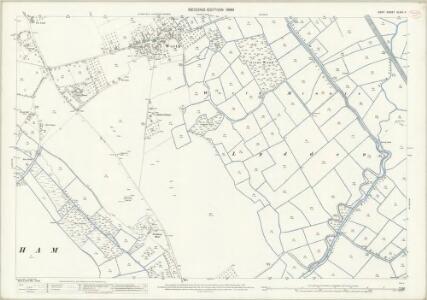 Kent XLVIII.11 (includes: Worth) - 25 Inch Map