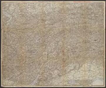 Schutzhütten- u. Uebersichts-Karte der Ostalpen, westliches Blatt, neue Ausgabe 1900