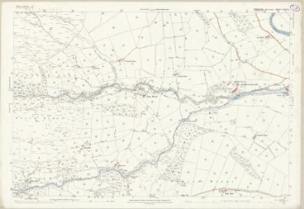 Yorkshire CXXXV.3 (includes: Bewerley; Down Stonebeck; High And Low Bishopside) - 25 Inch Map