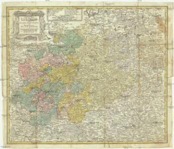 Circuli supe. Saxoniae pars meridionalis sive ducatus, electoratus et principatus ducum Saxoniae