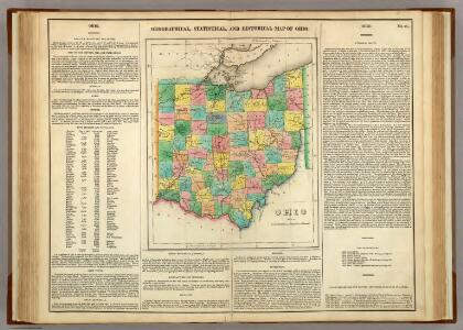 Map Of Ohio.