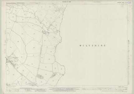 Somerset XLIII.4 (includes: Chapmanslade; Corsley; Selwood) - 25 Inch Map