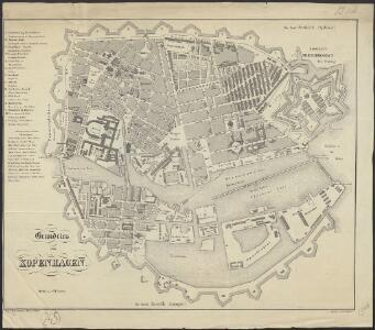 Grundriss von Kopenhagen