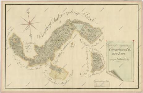 Přehledná mapa polesí Jílovice 1