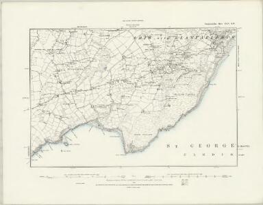 Caernarvonshire XLIII.NE - OS Six-Inch Map