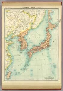 Japanese Empire - political.