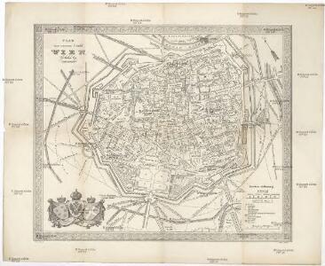 Plan der innern Stadt Wien