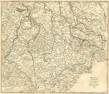 Marquisat de Misnie premiere Province de la Saxe