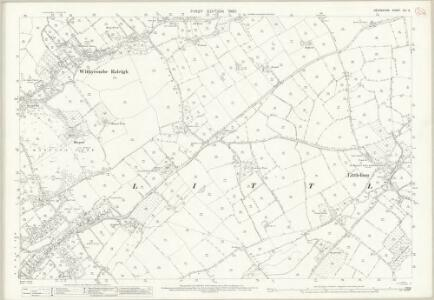 Devon CIII.2 (includes: Littleham; Withycombe Raleigh) - 25 Inch Map