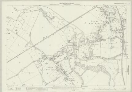 Cambridgeshire LIV.2 (includes: Great Shelford; Harston; Hauxton; Little Shelford; Sawston) - 25 Inch Map