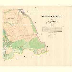 Wschechowitz - m3501-1-003 - Kaiserpflichtexemplar der Landkarten des stabilen Katasters