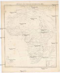 Afrika's Politische Eintheilung 1897