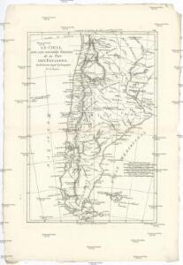Le Chili, avec les contrées voisines et le pays des Patagons
