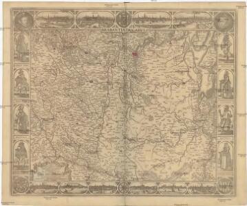 Tabula DUCATUS BRABANTIAE continens Marchionatum Sacri Imperii et Dominum Mechliniense