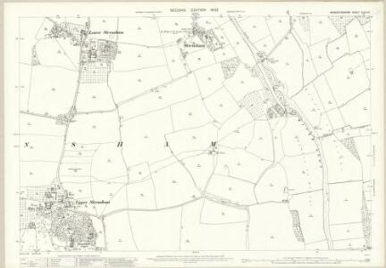 Worcestershire XLVIII.10 (includes: Bredons Norton; Eckington; Strensham) - 25 Inch Map