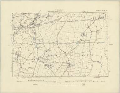 Norfolk XXXII.SW - OS Six-Inch Map