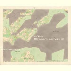 Ober Beczwa (Horny Bečwa) - m0763-1-011 - Kaiserpflichtexemplar der Landkarten des stabilen Katasters
