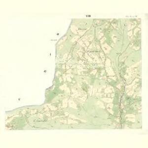 Mitter Beczwa (Prostředny Beczwa) - m2424-1-007 - Kaiserpflichtexemplar der Landkarten des stabilen Katasters