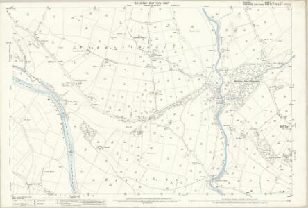 Durham XL.13 (includes: Eggleston; Mickleton; Middleton In Teesdale) - 25 Inch Map