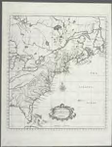 A map of the British-plantations on the continent of America / Stephens fecit.