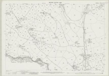Cornwall LXXV.12 (includes: Breage; Helston; Sithney) - 25 Inch Map