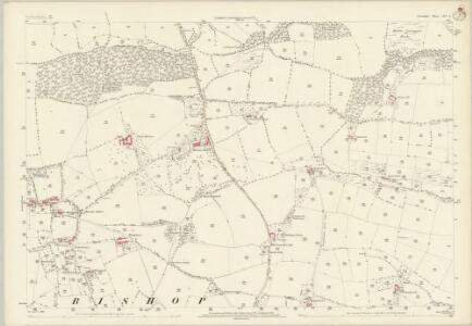 Devon LIV.4 (includes: Morchard Bishop; Woolfardisworthy) - 25 Inch Map