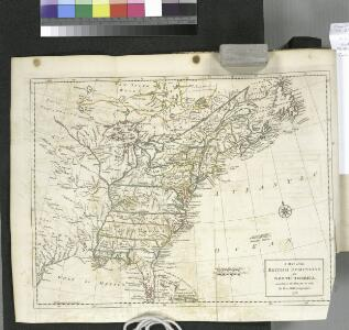 A map of the British dominions in North America, according to the Treaty in 1763 / by Peter Bell, geographer, 1772.
