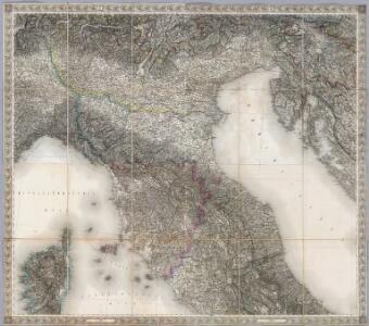 Composite XI, XII, XVI, XVII: Karte Des Oesterreichischen Kaiserstaates.