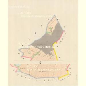 Wodnian - c8719-1-010 - Kaiserpflichtexemplar der Landkarten des stabilen Katasters
