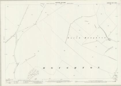 Hampshire and Isle of Wight XXXIX.3 (includes: Broughton; Houghton) - 25 Inch Map