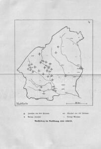 Verschiebung der Bevölkerung 1910-1920/23