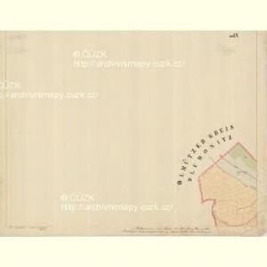 Prerau (Přerow) - m2453-1-023 - Kaiserpflichtexemplar der Landkarten des stabilen Katasters