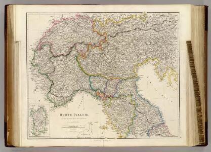 North Italy &c. (with) Sardinia.