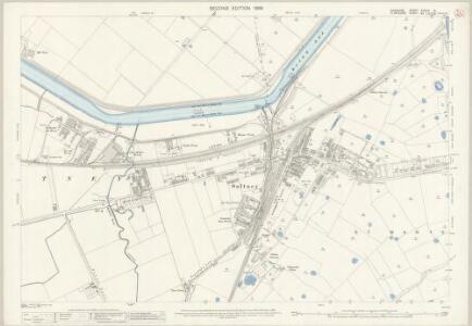Cheshire XXXVIII.14 (includes: Chester; East Saltney; Marlston cum Lache; Sealand) - 25 Inch Map