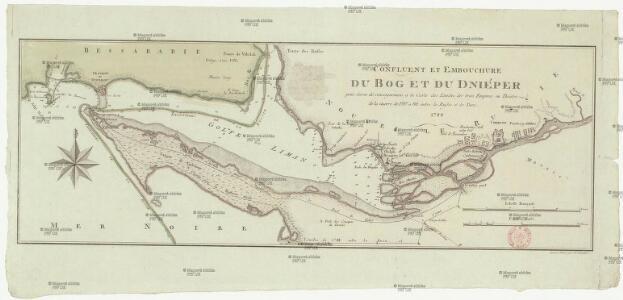 Confluent et embouchure du Bog et du Dniéper