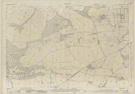 Shropshire XIX.1 (includes: Oswestry Rural; Oswestry Urban) - 25 Inch Map