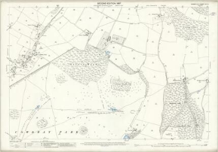 Sussex XXII.9 (includes: Easebourne; South Ambersham) - 25 Inch Map