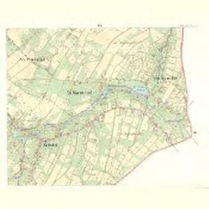 Alt Warnsdorf - c8331-1-007 - Kaiserpflichtexemplar der Landkarten des stabilen Katasters