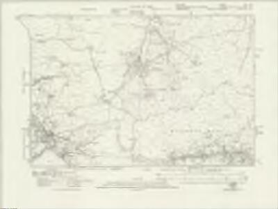 Durham XV.SW - OS Six-Inch Map