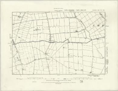 Lincolnshire CVII.NW - OS Six-Inch Map