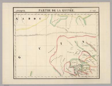 Partie, la Guinee. Afrique 27.