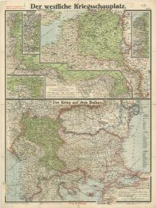 Paasche's Frontenkarte, Nr.6. Der Krieg gegen Russland