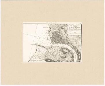 Isla de Sto. Domingo : plano de la embocadura del rio Ozama y ciudad de Sto. Domingo ...