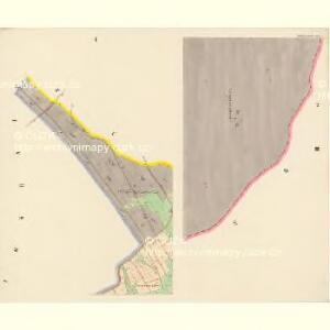 Königswalde - c3498-2-001 - Kaiserpflichtexemplar der Landkarten des stabilen Katasters