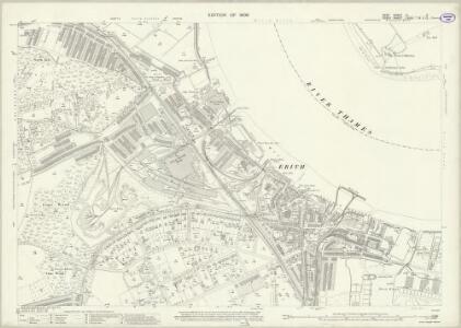 Kent III.9 (includes: Erith; Wennington) - 25 Inch Map