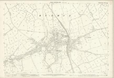 Denbighshire XIX.7 (includes: Llanbedr; Llanynys Rural; Rhuthun) - 25 Inch Map