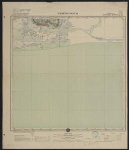 Afrique occidentale française-carte régulière. Porto-Novo