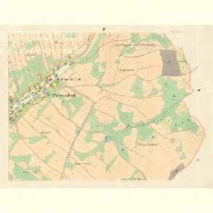 Petersdorf (Petrowice) - m0900-1-004 - Kaiserpflichtexemplar der Landkarten des stabilen Katasters