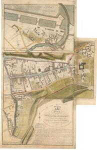 Plan of the Regality of Canongate comprising the Liberties of Pleasance, North Leith, Coal-hill and Citidal thereof. Plan of North Leith within the Regality of Canongate.